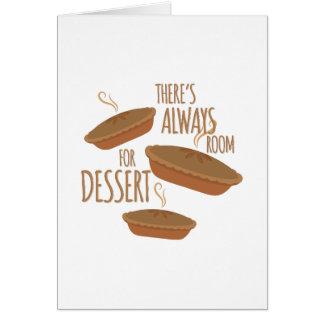 Room For Dessert Card