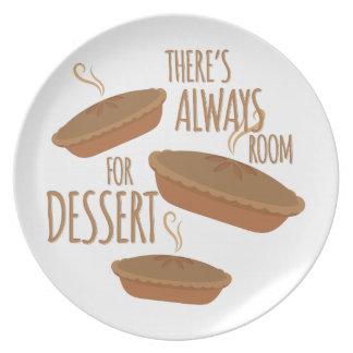 Room For Dessert Dinner Plates