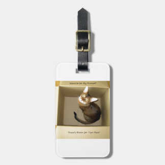 Room for Two Luggage Tag
