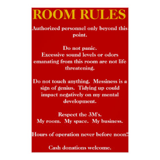 my room my rules posters my room my rules wall art
