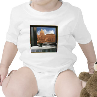 Room with a view decorative photograph urban livin bodysuits