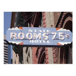 Rooms 75 Cents Postcard