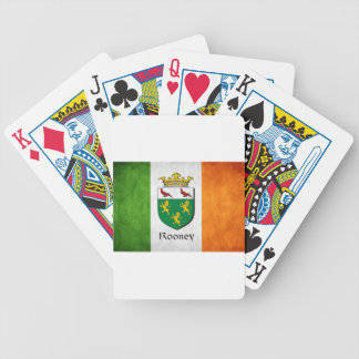 Rooney Irish Flag Bicycle Playing Cards