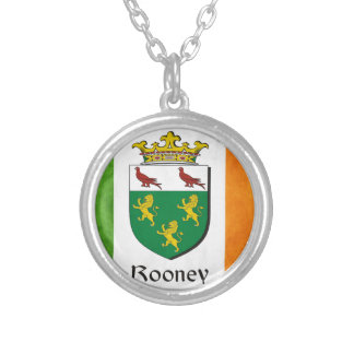 Rooney Irish Flag Silver Plated Necklace
