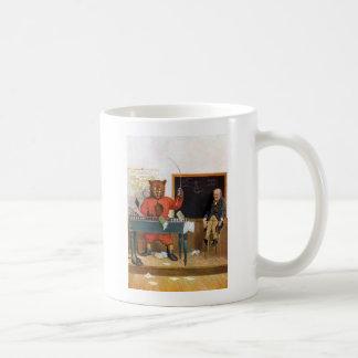 Roosevelt Bear as a Substitute Teacher Coffee Mug
