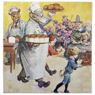 Roosevelt Bears Buttery Bakery Napkin