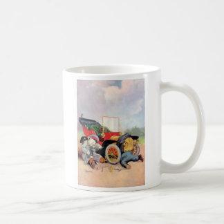 Roosevelt Bears Car Mechanics. Coffee Mug
