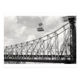 Roosevelt Island Tramway, NYC, Analog (film) photo Postcard