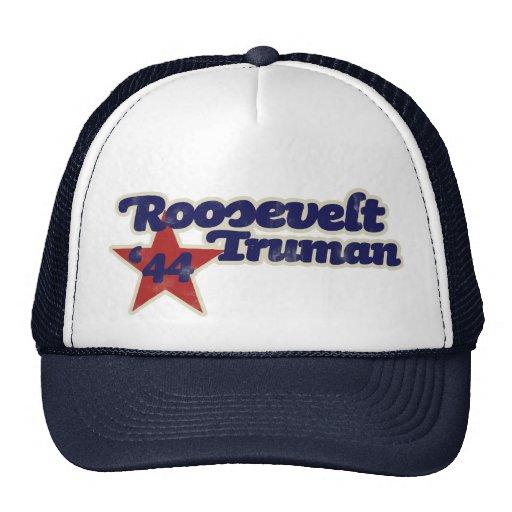 Roosevelt Truman 1944 Casquettes De Camionneur