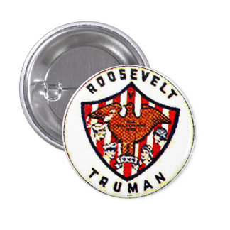 Roosevelt-Truman - Button