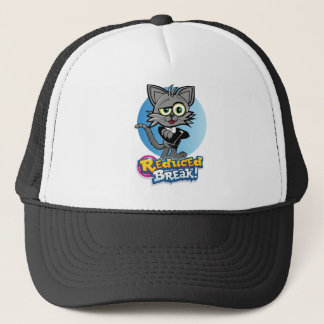 Rooskie is the crazy video cat at Reduced Break. Trucker Hat