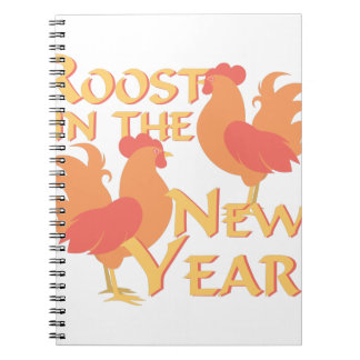 Roost In New Year Notebook