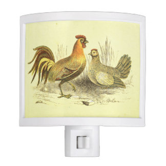 Rooster and Chicken Kitchen Light Nite Lites