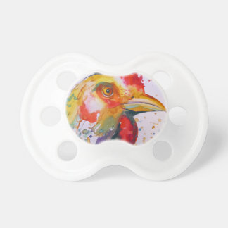 Rooster Baby Pacifiers