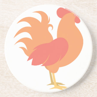Rooster Beverage Coasters