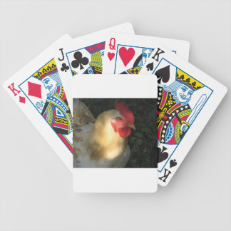 Rooster Bicycle Playing Cards