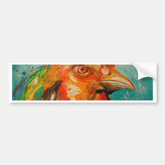 Rooster, Bumper Sticker