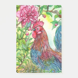 Rooster By Peony Post-it Notes