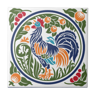 Rooster Ceramic Tiles
