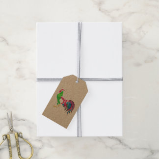 Rooster Charm Gift Tags