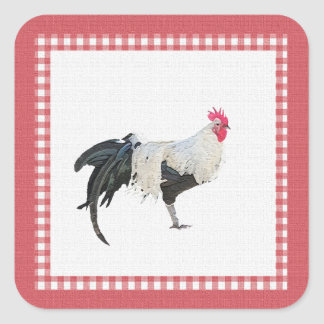 Rooster Country Decor Stickers