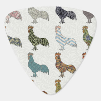Rooster Country Pattern Pick