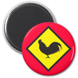 ROOSTER crossing Magnet