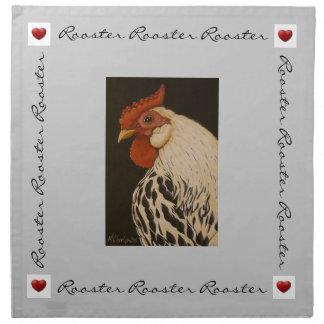 Rooster Dinner Napkin