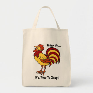 Rooster Eco-Shopping Bag.
