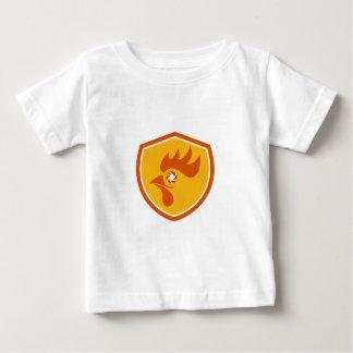 Rooster Eye Shutter Crest Retro Baby T-Shirt