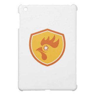 Rooster Eye Shutter Crest Retro Case For The iPad Mini