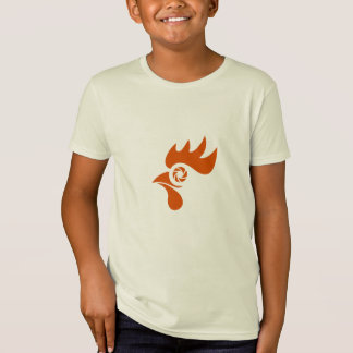 Rooster Eye Shutter Retro T-Shirt