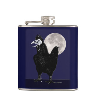Rooster Ghost Flask