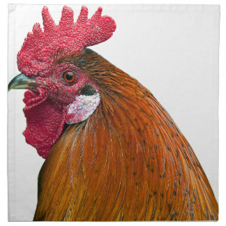 Rooster Head Napkin