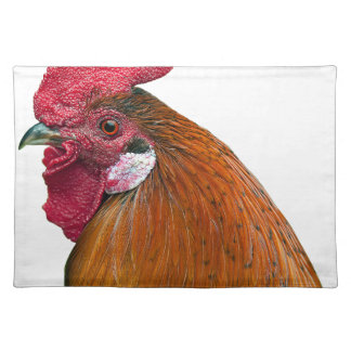 Rooster Head Placemat