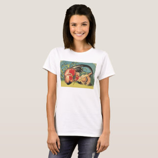 Rooster, Hen and Chick T-Shirt