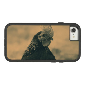 Rooster in Sepia Case-Mate Tough Extreme iPhone 8/7 Case