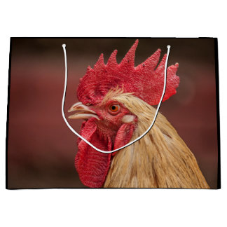 Rooster Large Gift Bag