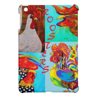 Rooster Menagerie iPad Mini Case