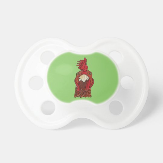 Rooster Pacifier