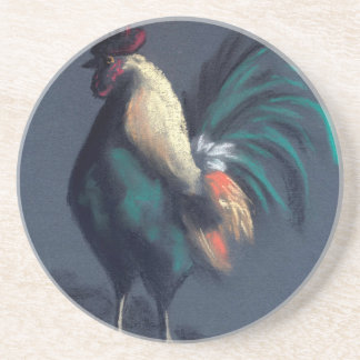 Rooster Pastel Coaster