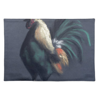 Rooster Pastel Placemat