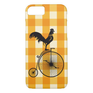 Rooster Riding a Penny Farthing Bike Case-Mate iPhone Case