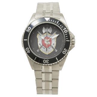 Rooster Sigil Battle Crest Wrist Watches