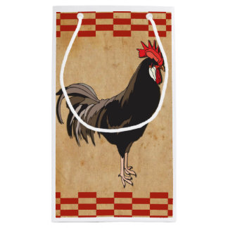 Rooster Small Gift Bag