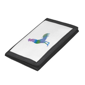 Rooster Trifold Wallet