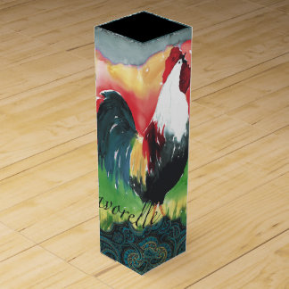 Rooster Wine Gift Box