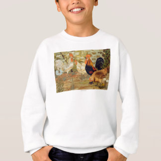 Roosters and hens sweatshirt