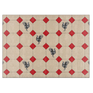 Roosters Cutting Board