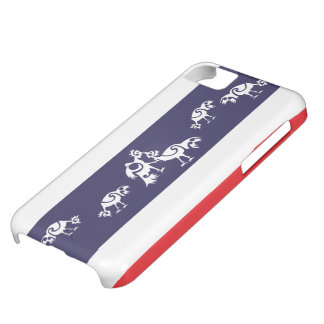 Roosters fighting / Thai flag iPhone 5C Case